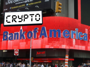 Bank of America Files Brand New Patent: Cryptocurrency Wire Transfer System