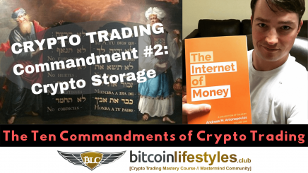 2nd Crypto Trading Commandment: Thou Shalt Not Store Crypto On The Exchange