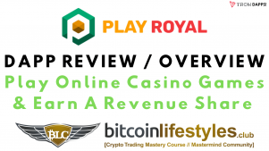 Play Royal Online Casino Games DAPP Review / Overview [Passive Crypto Income]